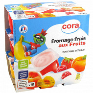 Cora kido fromage frais aux fruits 18x50g