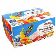 Cora kido fromage frais aux fruits 24x50g
