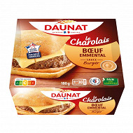 Daunat Pavé Le charolais viande de boeuf 180g