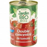 Jardin bio Etic double concentré de tomates bio 140g