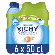 Vichy Célestins eau minérale naturelle gazeuse 6 x 50 cl