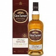 Glen turner héritage scotch whisky 70cl 40%vol sous canister