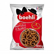 Boehli sachet bretzels d'alsace 200g