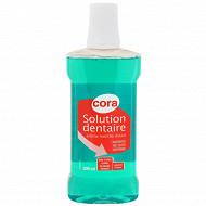 Cora solution dentaire verte 500ml