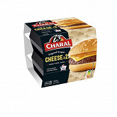 Cheese burger 2x145g Charal