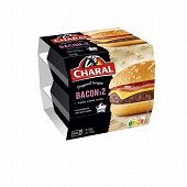 Bacon burger 2x155g Charal