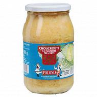 Polonia choucroute au naturel pré-cuite bocal 860g