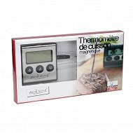 """Ardtime thermomètre de cuisson électronique aimante """"kitchen store"""""""