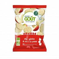 Good gout mini galettes riz pomme 40g
