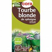 Cora tourbe blonde 80l utilisable en agriculture biologique