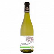 Côtes du Rhônes blanc L'âme du terroir 75 cl 12,5% Vol.