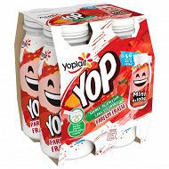 Yop mini goût fraise 4x100g