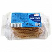 Cora 10 gaufres fourrées vanille 300g