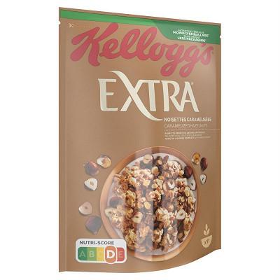 Kellogg's Kellogg's extra noisettes caramelisées 500g