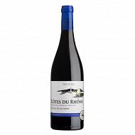 L'âme du terroir Côtes du Rhône boisé fût 75 cl 14.5% Vol.