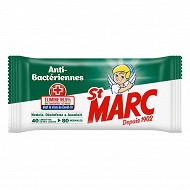 St Marc lingette antibactérien x80
