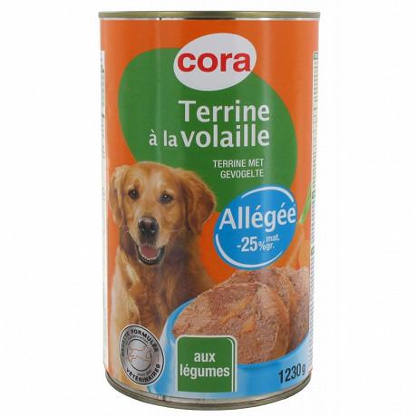 Cora terrine allégée 3/2 1230 gr