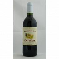 Saint jean de la vallée Corbières rouge 75 cl 12,5% Vol.