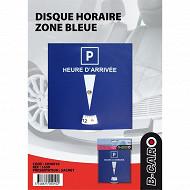 Auto select B-car disque horaire zone bleue