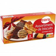 Cora assortiments biscuits 200g