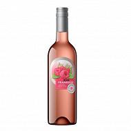 Champoreau boisson à base de vin rosé framboise 75 cl 8% Vol.