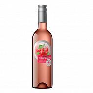 Champoreau boisson à base de vin rosé griotte 75 cl 8% Vol.