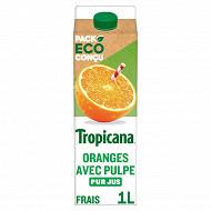 Tropicana Pure Premium orange avec pulpe pur jus brique 1l