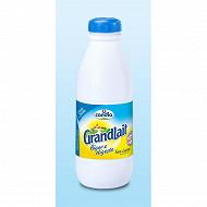 Grandlait léger & digeste sans lactose demi-écrémé bouteille 1l