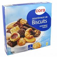 Cora assortiments biscuits 250g