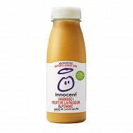 Innocent smoothie mangues et fruits de la passion 250ml