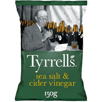 Tyrrell's Tyrrell's chips vinaigre de cidre et sel de mer 150g