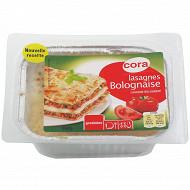 Cora lasagnes bolognaises 350g