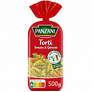 Panzani torti épinards et tomates 500g
