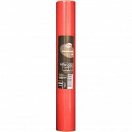 Cora chemin de table soft rouge 4.80x0.38m