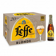 Leffe blonde 20x33cl 6.6% vol