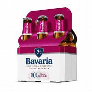 Bavaria fruity rosé bouteille pack 6x25cl 0%vol