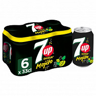 7up saveur mojito 6x33cl