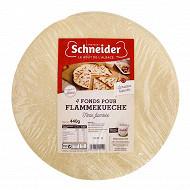 Schneider 4 fonds pour tartes flambées 440g