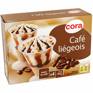 Cora café liégeois  4 X 125 ml - 255g