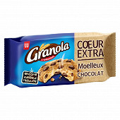 Granola cookies coeur extra choco 182g