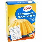 Cora entremets saveur vanille 192g