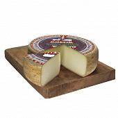 Tomme brebis et chèvre lait pasteurisé 39.2% mg/pt