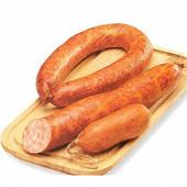 Saucisson cuit à l'ail (issu de Porc Label Rouge) fumé