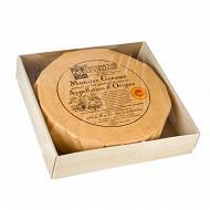 Munster plat aop Patrimoine gourmand au lait pasteurisé  3/4 affiné