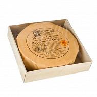 Munster plat aop Patrimoine gourmand au lait pasteurisé  4/4 affiné