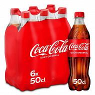 Coca-Cola pet 6x50cl