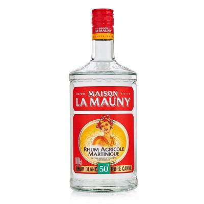 La Mauny La Mauny rhum blanc 1L 50%vol