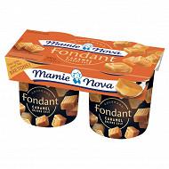 Mamie Nova dessert lacté au caramel et au beurre salé 2x150 g