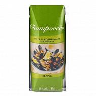 Champoreau vce blanc briquettes 25cl 11%Vol.