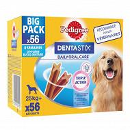 Pedigree dentastix pour grands chien 56 sticks 2.16kg